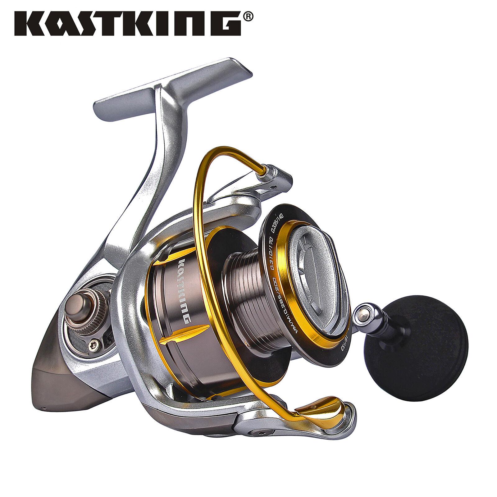 Kastre recentissimo Kodiak SPINNING REEL in fibra di autobonio trascinare pesca mulinelli