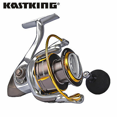 KastKing Newly Released Kodiak Spinning Reel Carbon Fiber Drag Fishing Reels