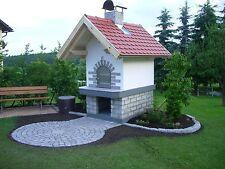 Holzbackofen Steinbackofen Pizzaofen Bauanleitung Ofen mit präzisen Plänen u.v.a