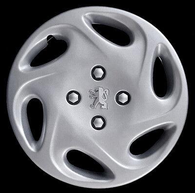Lot de 4/enjoliveurs roue 14 Peugeot 206//à partir de 1998 Produit non original