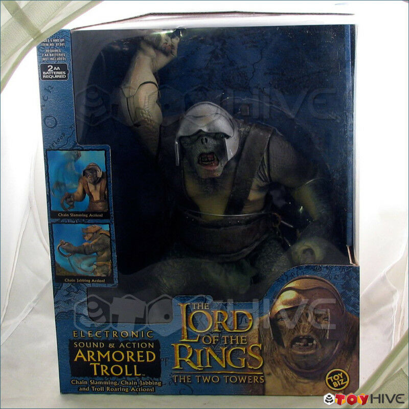 Lord of the Rings Two Towers Electronic sounds Armorosso Troll LOTR