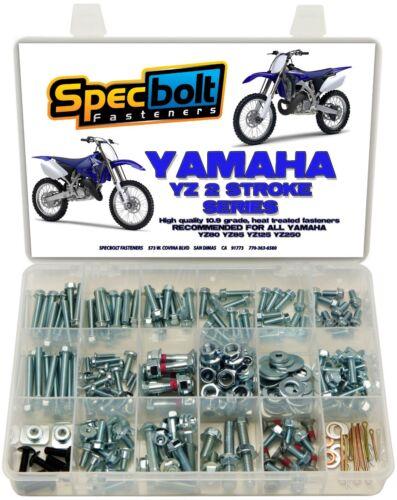 SPECBOLT Bolt Kit Yamaha YZ 80 85 125 250 WR YZ125 YZ250 Seat motor shrouds