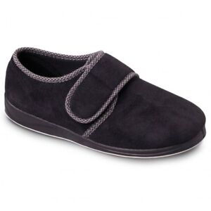 b8b3696af89a Image is loading Padders-HARRY-Mens-Warm-Microsuede-Touch-Fasten-Wide-