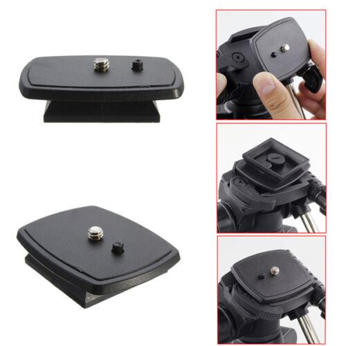 Yunteng Tripod Quick Release Plate Screw Adapter Mount Head For DSLR SLR Digital
