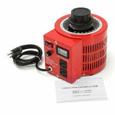 Variac 20amp 110v Variable Ac Power Transformer Regulator 0 130v 20a Metered