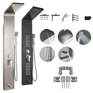 Pannello-doccia-idromassaggio-colonna-in-acciaio-inossidabile-con-miscelatore