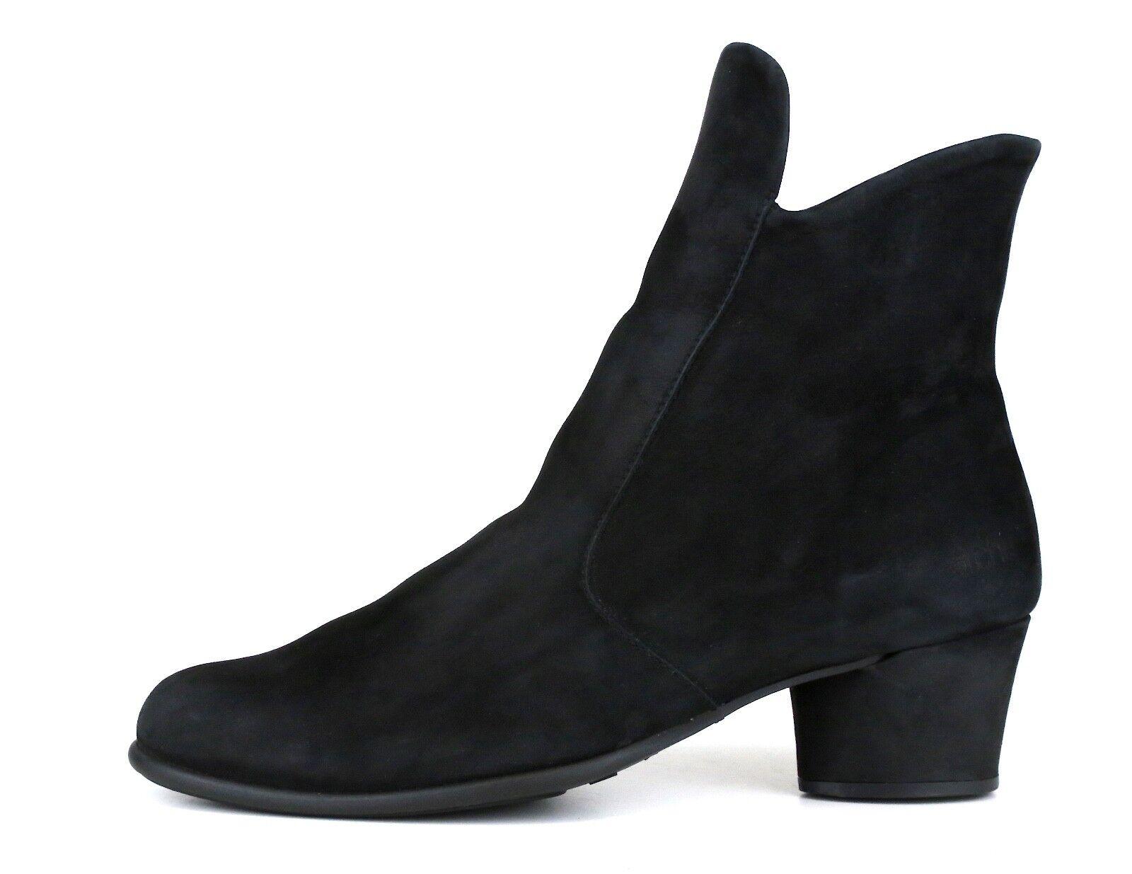 Arche Musaca Suede Ankle Boot Black Women Sz 35 *