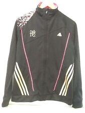 2012 London Olympic Jacket Adidas Climacool Black Womens Size Medium NWT