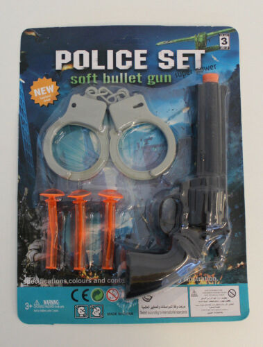 Set POLIZIA POLICE Set pistola Manette
