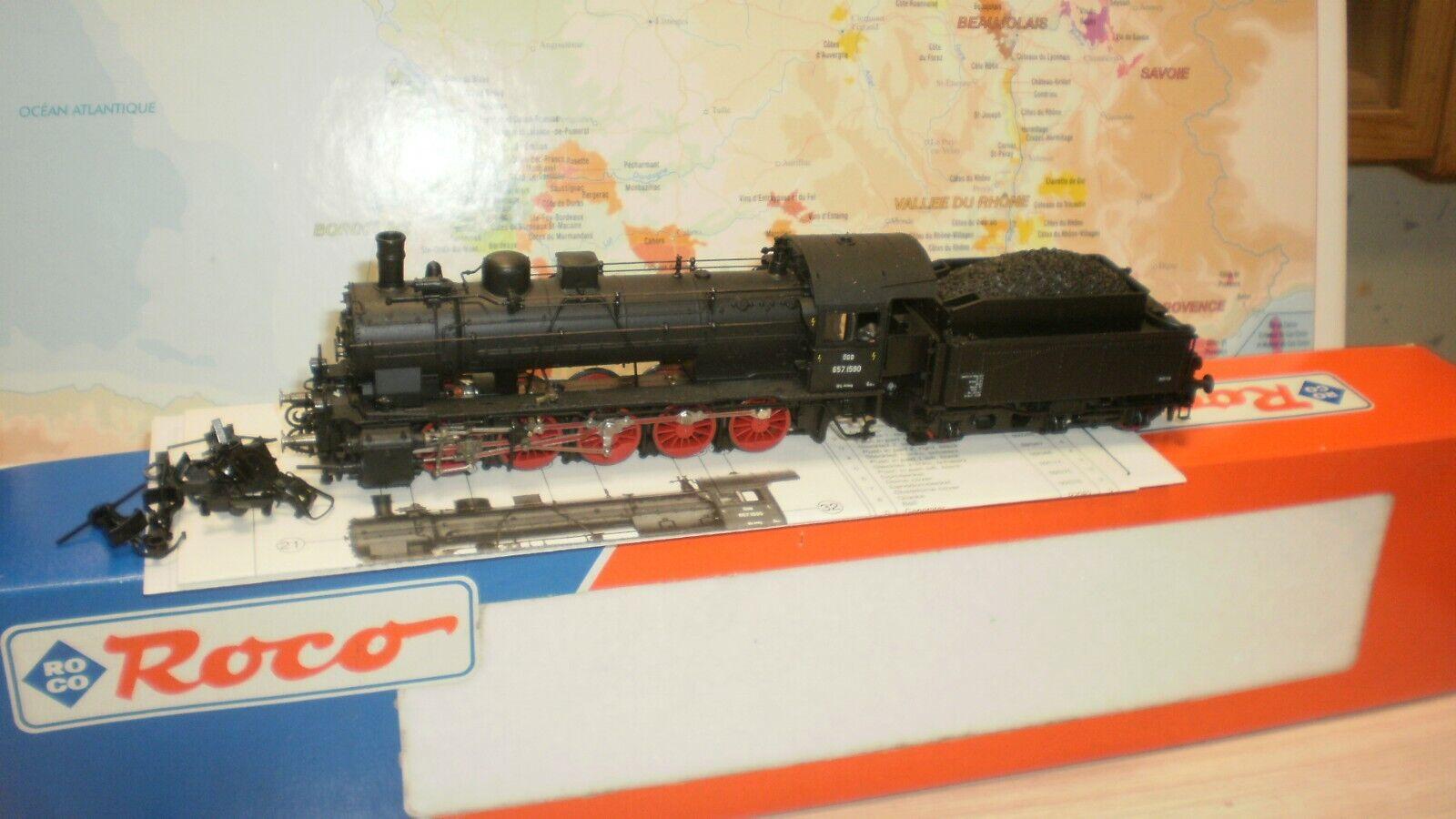 Loco vapeur 657.1590 OBB Roco HO