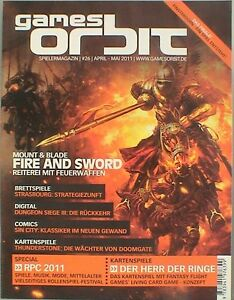 GAMES ORBIT Spielermagazin Nr 26 APRIL MAI 11 RPC Goon - <span itemprop='availableAtOrFrom'>Leipzig, Deutschland</span> - GAMES ORBIT Spielermagazin Nr 26 APRIL MAI 11 RPC Goon - Leipzig, Deutschland