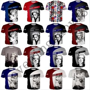 popular-star-madonna-3D-Print-Casual-T-Shirt-New-Men-Women-Short-Sleeve-Tee-Tops
