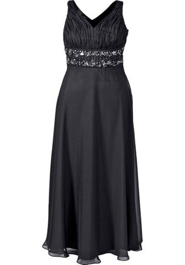 Designer Kleid von MIM MIM MIM Abendkleid Größe 42 NEU    schwarz HEINE e471d2