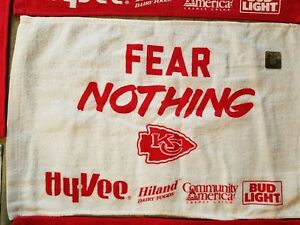 KC Kansas City Chiefs Kingdom PROMO SGA Giveaway Rally Towel Fear ... fdf4ad73d3a2
