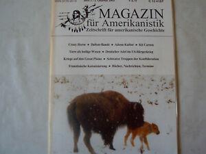 Amerikanistik 1/2003 - Crazy Horse-guerra civile-NERA forze della Confederazione