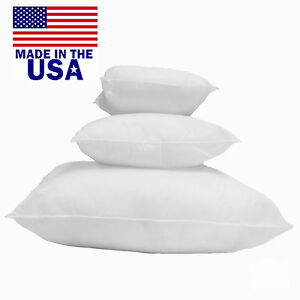 Mybecca-Square-Euro-Pillow-Form-Insert-ALL-SIZES-Made-In-USA-Pillow-Forms-Insert