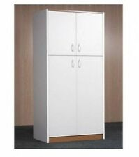 White Kitchen Storage Cabinet Cupboard Pantry Room Organizer Furniture for Food