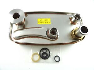 GENUINE-WORCESTER-28CDI-DHW-HEAT-EXCHANGER-87161429030-NEW