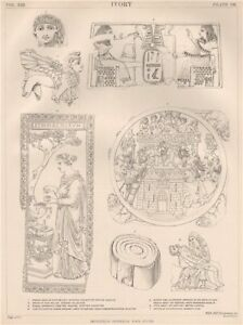 IVORY. Nineveh collection, British Museum. Mammoth Pieta ...