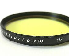 Hasselblad B60mm GIALLO FILTRO FILTRE giallo Flo Giallo ALL'ITALIANA gelbfilter Bay 60