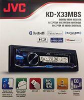 Jvc Kd-x33mbs Digital Media Receiver, Single Din W/ Bluetooth Usb/mp3