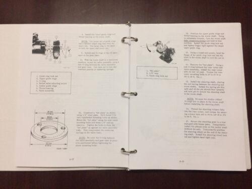 International 274 Offset 284 Compact Tractor Service Manual Shop Manual Overhaul
