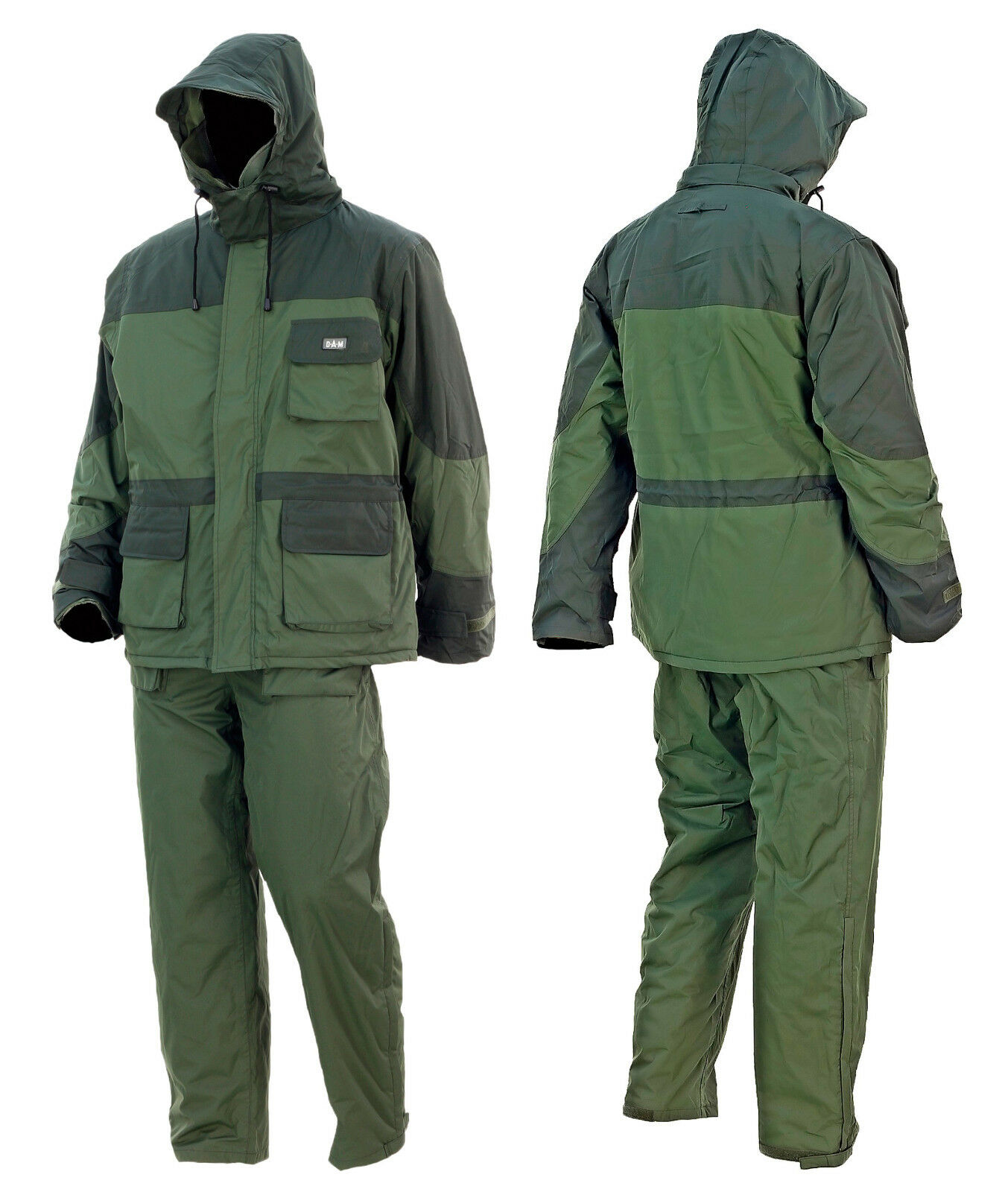 Dam Dura Therm Suit Thermal Suit Size Selectable 100% Wind- & Waterproof