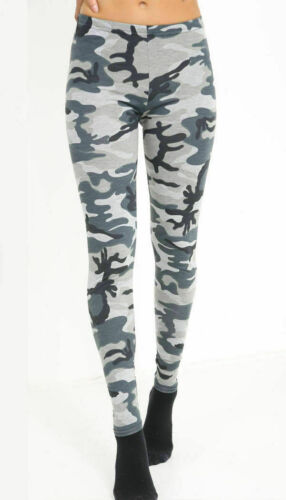 Women Ladies Full Length Printed Legging Jeggings Stretchy Pants Skinny Leggings