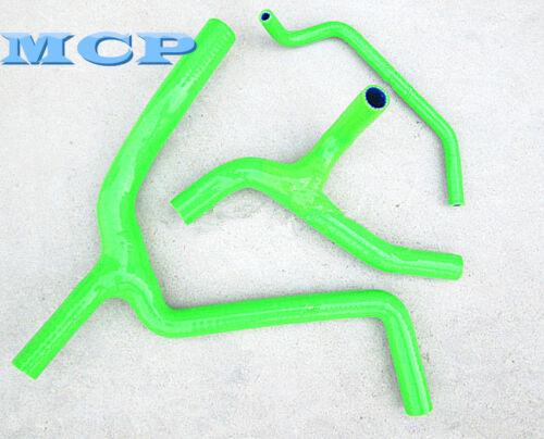 Silicone Radiator Y Hose for Kawasaki KX450F KXF450 2009-2014 10 11 12 13 GREEN