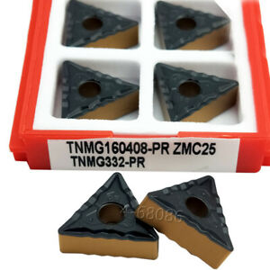 CM Threading Carbide Inserts Cutting tool For Lathe CNC 50pcs TNMG160408