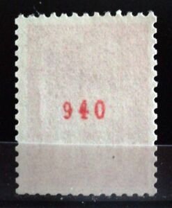 FRANCE-YVERT-1664b-SCOTT-1293-034-MARIANNE-BEQUET-50c-RED-CONTROL-NUMBER-034-MNH-VVF