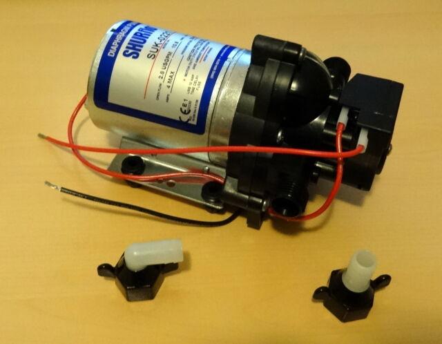 OFERTA Bomba de Agua de Presión Shurflo 10 Litros/Minuto 12V No Flojet No Aqua 8