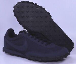 96b5df4ed9ec38 Nike Waffle Racer 17 PRM Premium Mens Blue Running Shoes Size 9 9.5 ...