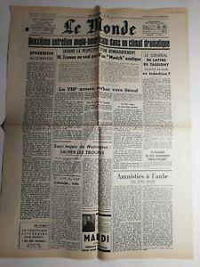 N408-La-Une-Du-Journal-Le-Monde-6-decembre-1950-anglo-americains-climat-dramatiq