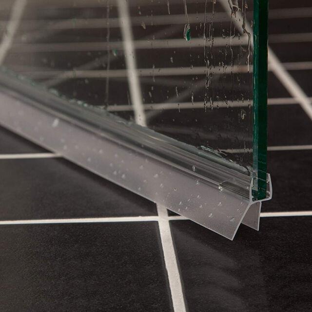 Duschdichtung f/ür 5-6mm Duschtrennwand H/öhe der Lippe 7 mm Dichtung 90 cm lang