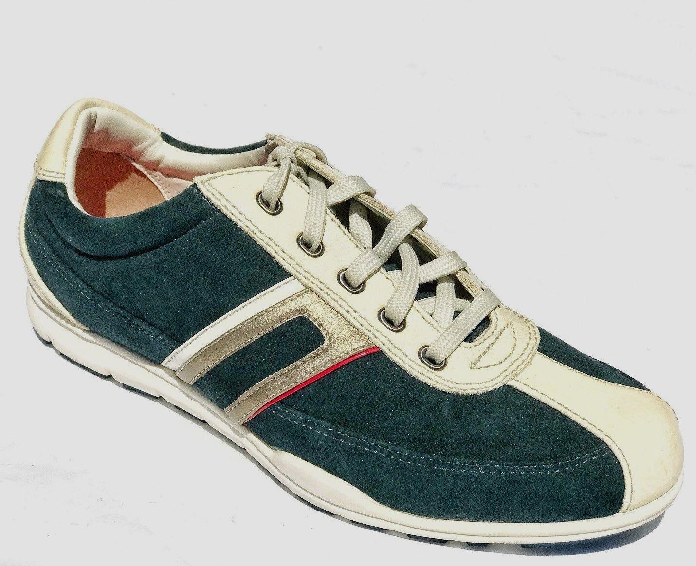Cole Haan Para Para Para Mujeres Con Cordones Tenis Zapatos Nathalie Azul Marfil 10 Nuevo En Caja  ¡envío gratis!