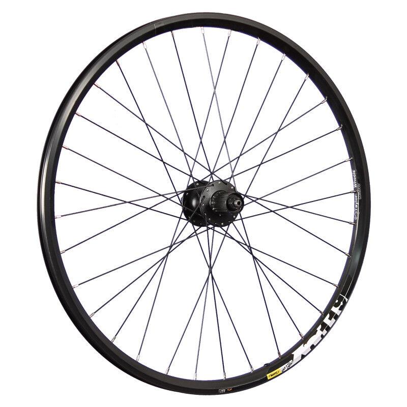Taylor Wheels 26 Zoll Hinterrad Mavic XM119D Shimano Deore FH-M525 Disc black
