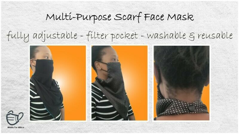 - High Quality Multi-Purpose Face Scarves -