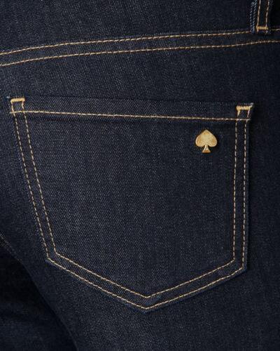 $198 Kate Spade  broom street denim indigo jeans NWT  size 24
