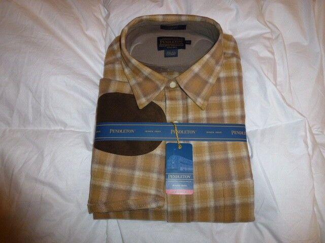 Pendleton mens wool Classic-Fit Trail shirt XXL