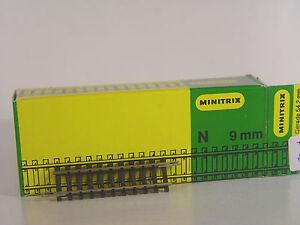 MINITRIX 14907 Gerades Gleis Länge 50,0 mm Spur N    #5766