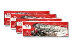 """3 X Holiday Time Christmas Tree Tinsel Icicles,1000 Strands,18/""""long Silver"""
