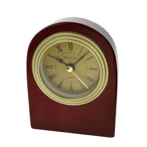 Solid-Wood-Standing-Desk-Top-Clock-New-In-Box-Lot-1867938