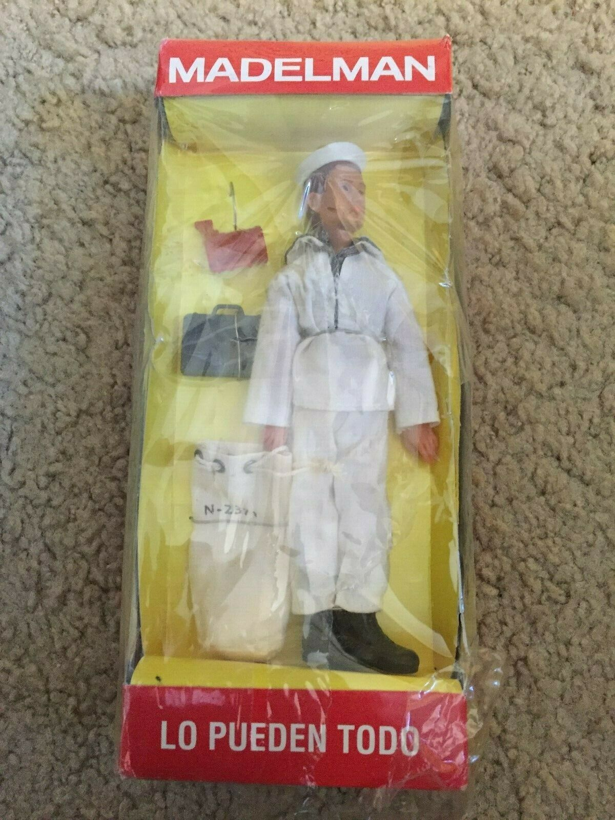 MADELMAN Espagne 6.5 in (environ 16.51 cm) Tall Navy figure-Comme neuf in box-rare