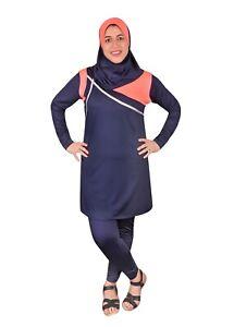 Egypt Bazar Ganzk/örper islamischer Badeanzug im Burkini Stil muslimischer Schwimmanzug Hijab