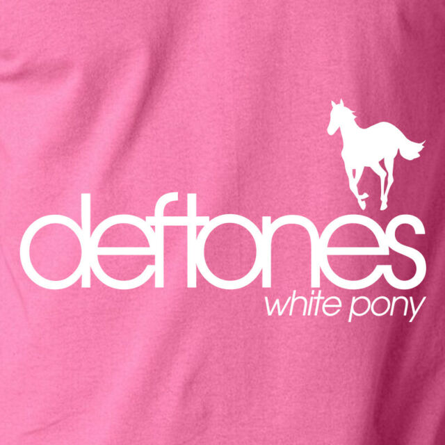 The Nu Metal White Pony Deftones White For Men/'s Tees S-3XL T-Shirt