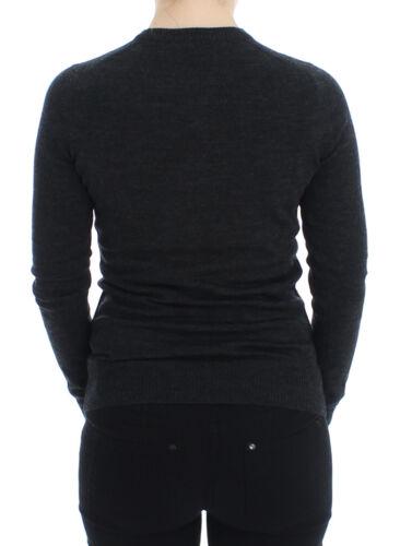 Gabbana It36 Nuova Bottoni Dolce Lana Maglione Con Etichetta Cardigan Grigio Tw7xqtgw