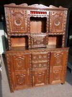 French Period Bretron Dresser In Oak