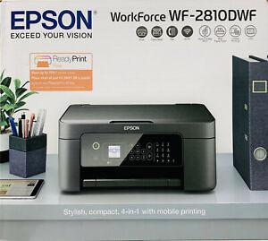 EPSON WORKFORCE WF-2810DWF MULTIFUNZIONE 4 IN 1 WIFI FAX STAMPANTE COPIA