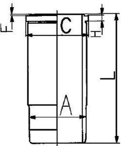 Cylindre-Manche-KOLBENSCHMIDT-89564110